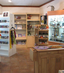 Our wonderful gift shop.